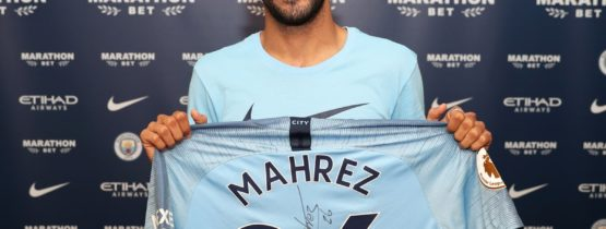 BREAKING: Manchester City have signed Riyad Mahrez for 60mp 🔵