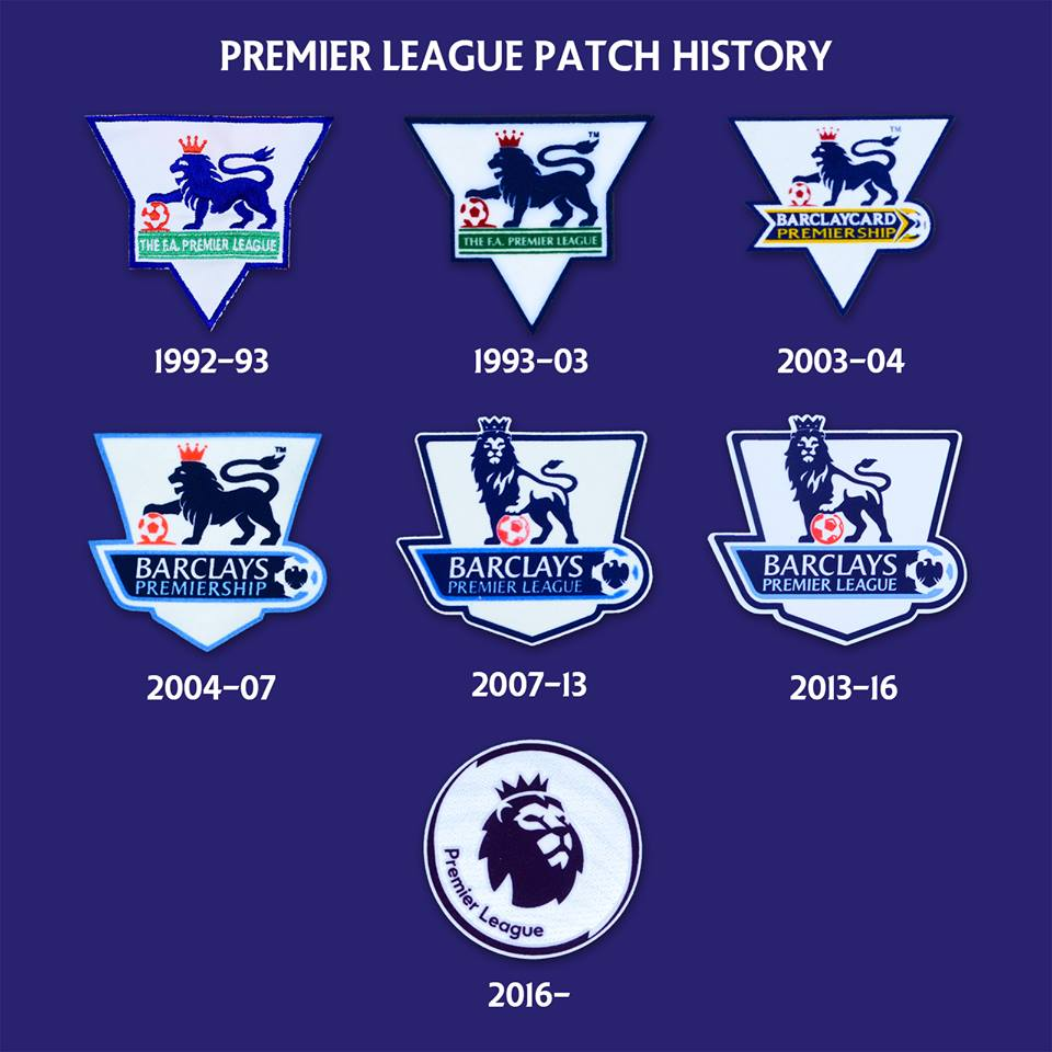 Evolution of the Premier League patch
