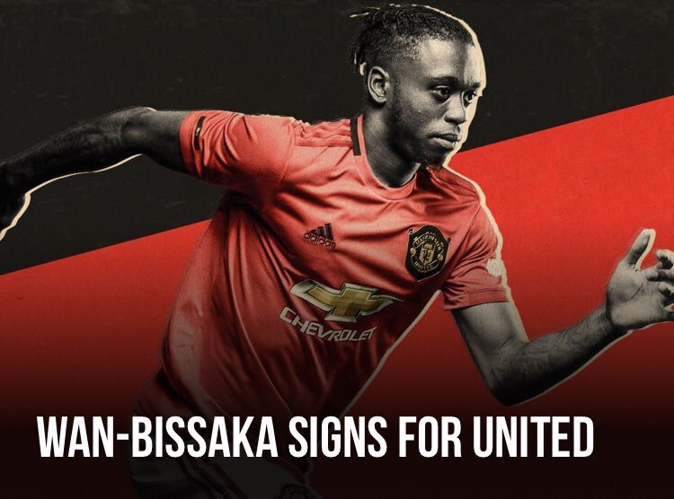 Man United sign Aaron van Bissaka for £50m